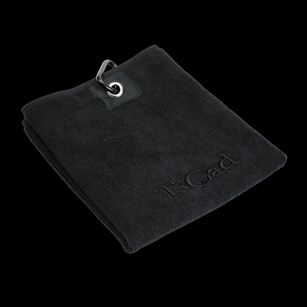 Schlägertuch schwarz